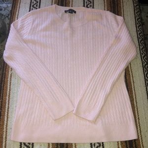 Designers Originals Pink Cable Knit Sweater